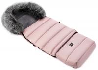 Зимний детский конверт Bair Arctic с удлинением  розовый пудра. 31316