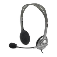 Наушники Logitech H110 Stereo Headset with 2*3pin jacks (981-000271). 47498
