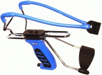 Рогатка Man Kung MK-SL06BL с упором ц:синий. 1000072