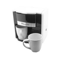 Капельная кофеварка Domotec MS-0706 с 2 чашками, белая. 48878