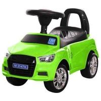Детская каталка-толокар Bambi Audi M 3147A-5, зеленая. 49306
