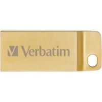 USB флеш накопитель Verbatim 64GB Metal Executive Gold USB 3.0 (99106). 42062