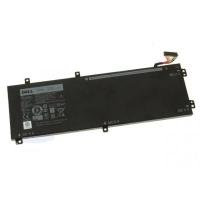 Аккумулятор для ноутбука Dell XPS 15-9550 (short) RRCGW, 56Wh (4666mAh), 3cell, 11.4V, Li- (A47375). 42214