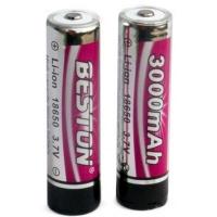 Аккумулятор BESTON 18650 (168A) 3000 mAh *2 с защитой Beston (AAB1848). 47372