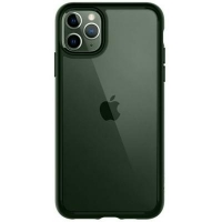 Чехол для моб. телефона Spigen iPhone 11 Pro Ultra Hybrid, Midnight Green (ACS00417). 45227