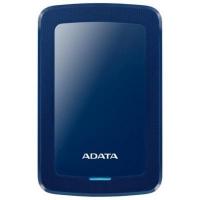 """Внешний жесткий диск 2.5"""" 2TB ADATA (AHV300-2TU31-CBL). 42427"""
