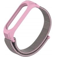 Ремешок для фитнес браслета Armorstandart Sport Loop для Xiaomi Mi Band 5 Pink (ARM56872). 45624