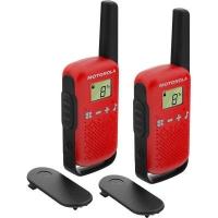 Портативная рация Motorola TALKABOUT T42 Red Twin Pack (B4P00811RDKMAW). 47551