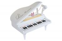 """Детское пианино на батарейках синтезатор Baoli """"Маленький музикант"""" с микрофоном 31 клавиша (белый) 29867"""