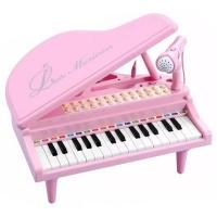 Музыкальная игрушка Silvestra Baoli пианино-синтезатор Маленький музикант с микрофоном 31 клави (BAO-1504C-P). 47762