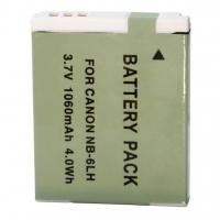 Аккумулятор к фото/видео Extradigital Canon NB-6LH (BDC2445). 47364