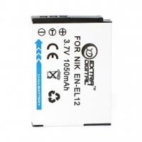 Аккумулятор к фото/видео Extradigital Nikon EN-EL12 (BDN2520). 44571