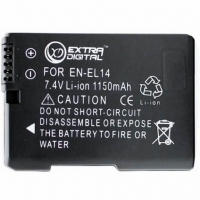Аккумулятор к фото/видео Extradigital NIKON EN-EL14 Chip (BDN2522). 44572