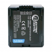 Аккумулятор к фото/видео Extradigital Panasonic VBD210, CGA-DU21 (BDP2580). 44580