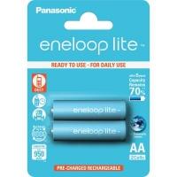 Аккумулятор Panasonic Eneloop Lite AA 950mAh NI-MH * 2 (BK-3LCCE/2BE). 44655