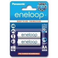 Аккумулятор Panasonic Eneloop AA 1900mAh NI-MH * 2 (BK-3MCCE/2BE). 44652