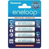 Аккумулятор Panasonic Eneloop 1900mAh NI-MH * 4 (BK-3MCCE/4BE). 44651