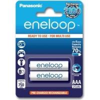 Аккумулятор Panasonic Eneloop AAA 750mAh NI-MH * 2 (BK-4MCCE/2BE). 44653