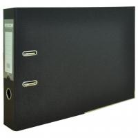 Папка - регистратор Buromax А3 double sided, 70мм PP, black (BM.3003-01). 47174