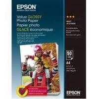 Бумага Epson A4 Value Glossy Photo Paper (C13S400036). 48693