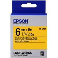 Лента для принтера этикеток Epson LK2YBP (C53S652002). 47703