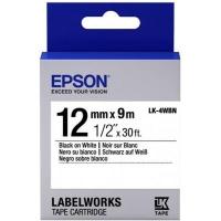 Лента для принтера этикеток EPSON LK4WBN (C53S654021). 48706