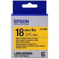 Лента для принтера этикеток Epson LK5YBW (C53S655010). 48707