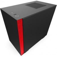 Корпус NZXT H210 Black/Red (CA-H210B-BR). 42885