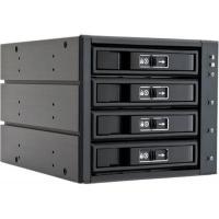 """Бэкплейн Chieftec 3x5.25""""/4x3.5"""" Hot-Swap Aluminium (CBP-3141SAS). 46675"""