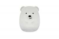 """Детский мягкий ночник-игрушка Click """"Hічні звірятка"""" Медведь 8 см 29983"""