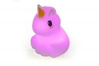 """Детский мягкий ночник-игрушка Click """"Hічні звірятка"""" Единорог 12 см 29980"""