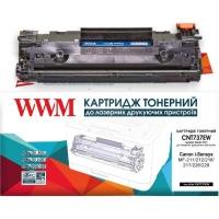 Картридж WWM для Canon 737/ HPCF283X (CNT737EW). 43604
