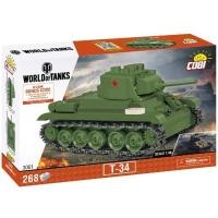 Конструктор Cobi Танк Т-34, 268 деталей (COBI-3061). 47898