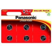 Батарейка Panasonic CR 2032 * 6 LITHIUM (CR-2032EL/6B). 47377