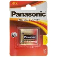 Батарейка Panasonic CR P2 * 1 LITHIUM (CR-P2L/1BP). 47378
