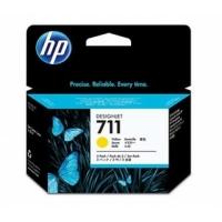 Картридж HP DJ No.711 DesignJet 120/520 3-Pack Yellow (CZ136A). 43730
