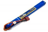 Аккумулятор полимерно-литиевый для страйкбола Giant Power (Dinogy) Li-Pol 7.4V 2S 1300mAh 25C 12х17х190мм T-Plug 29840