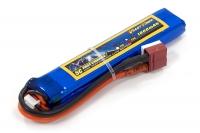 Аккумулятор полимерно-литиевый для страйкбола Giant Power (Dinogy) Li-Pol 7.4V 2S 1000mAh 25C 11.5х20х103мм T-Plug 29837