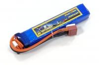 Аккумулятор полимерно-литиевый для страйкбола Giant Power (Dinogy) Li-Pol 11.1V 3S 1000mAh 25C 16.5х20х103мм T-Plug 29828