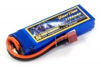 Аккумулятор полимерно-литиевый для страйкбола Giant Power (Dinogy) Li-Pol 11.1V 3S 2200mAh 25C 24х34х102мм T-Plug 29835