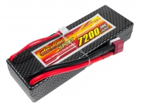 Аккумулятор полимерно-литиевый Dinogy Li-Pol 7200mAh 7.4V 2S 30C Hardcase 25x46x138мм T-Plug 29796
