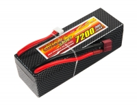 Аккумулятор полимерно-литиевый Dinogy Li-Pol 7200mAh 11.1V 3S 30C Hardcase 41x46x138мм T-Plug 29795
