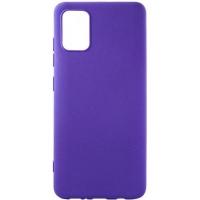 Чехол для моб. телефона DENGOS Carbon Samsung Galaxy A71, violet (DG-TPU-CRBN-53) (DG-TPU-CRBN-53). 47444