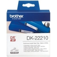 Этикет-лента Brother для принтера QL-1060N/QL-570QL-800 (29mm x 30.48M) (DK22210). 47704