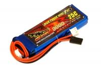Аккумулятор полимерно-литиевый Dinogy Li-Pol 3000mAh 7.4V 2S 14x29x92 для FrSky X9D+ 29773