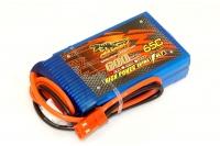 Аккумулятор полимерно-литиевый Dinogy Li-Pol 600mAh 7.4V 2S 65C JST 53x30x13мм 29793
