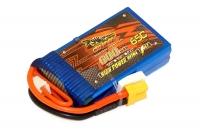 Аккумулятор полимерно-литиевый Dinogy Li-Pol 600mAh 7.4V 2S 65C XT30 53x30x13мм 29794