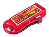 Аккумулятор полимерно-литиевый Dinogy Li-Pol 1800mAh 11.1V 3S 30C 24x35x84мм T-Plug 29764
