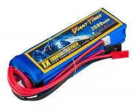 Аккумулятор полимерно-литиевый Giant Power (Dinogy) Li-Pol 2600mAh 11.1V 3S 3C 25x31x97мм Futaba+JST для передатчиков 29814