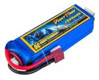 Аккумулятор полимерно-литиевый Giant Power (Dinogy) Li-Pol 2800mAh 11.1V 3S 25C 28x35x104мм T-Plug 29816